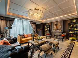 欧式风格客厅装修设计