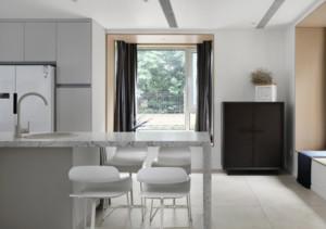 简洁现代风格别墅吧台装修效果图