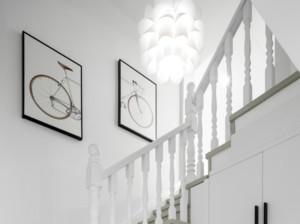 现代风格家庭复式楼梯装修效果图