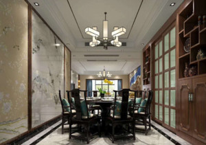 美式餐厅装修设计图片