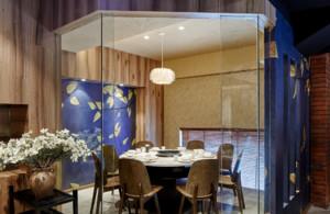 230平米现代风格餐厅装修效果图