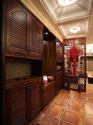 中式鞋柜装修案例欣赏