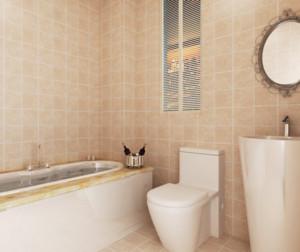 现代风格浴室装修效果图