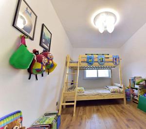田园风格儿童房简单装修图