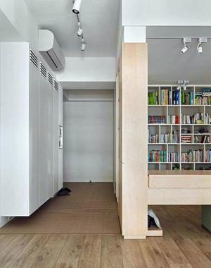 现代悬空鞋柜装修案例欣赏