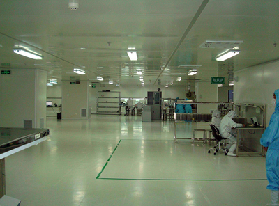 电子厂厂房装修设计图