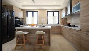 岛型厨房设计效果图