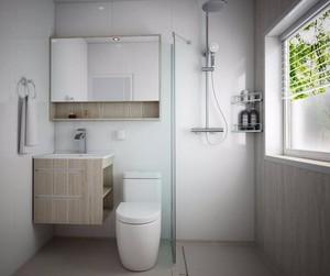 小户型卫生间干湿分离效果图