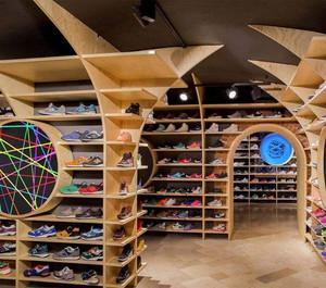 时尚运动鞋店装修效果图赏析