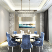 欧式风格家装餐厅装修效果图