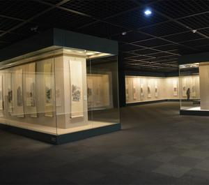 大型古字画博物馆装修效果图