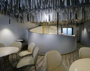 200平米餐厅装修设计图