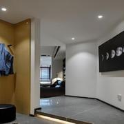 三居室简约风格玄关装修设计效果图