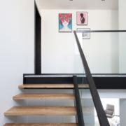 潮流混搭风格复式家庭楼梯装修效果图