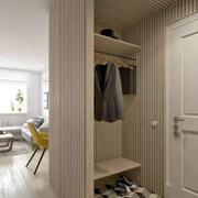 二居室现代鞋柜装修案例欣赏