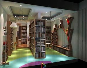 40平书店装修效果图