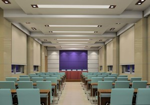 多媒体会议室装修效果图