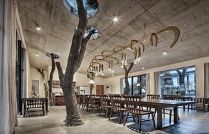 后现代风格酒店装修设计效果图