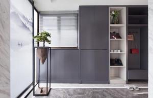 三居室现代玄关装修设计效果图