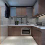 小户型厨房简单装修图