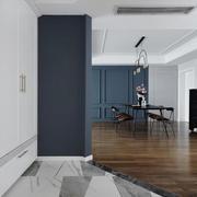 三居室简约风格进门玄关装修设计效果图