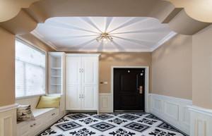 三居室现代风格玄关装修案列