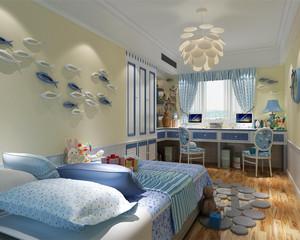 浪漫可爱风格儿童房装修效果图