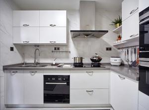 小型厨房整体橱柜效果图