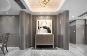 现代简约三居室玄关装修设计效果图