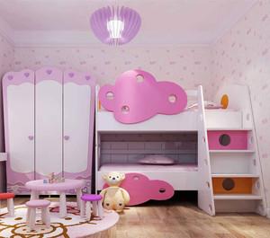 自然清新风格儿童房装修效果图