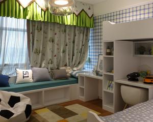 自然现代简约风格儿童房装修效果图