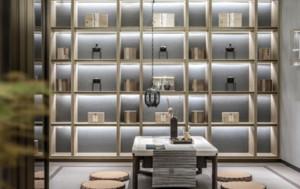 180平米中式茶楼设计图