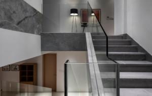 现代简约风格别墅楼梯装修设计图