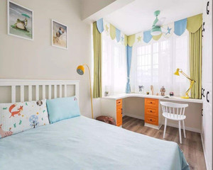 简约小清新风格儿童房装修效果图