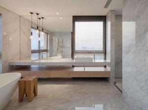 别墅卫生间现代风装修效果图