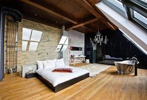 现代阁楼改卧室装修效果图
