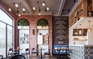 110平米餐厅装修设计图