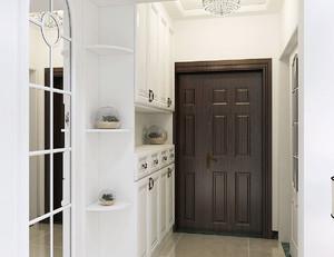 现代三居室鞋柜装修案例