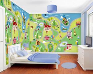简约风时尚儿童房装修效果图