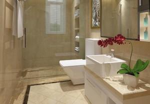 小户型卫生间干湿分离设计效果图