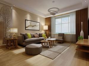 现代简约北欧风格客厅装修效果图