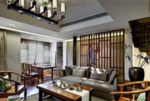 中式小客廳裝修效果圖