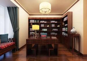 中式书房装修效果图大全