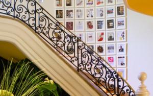 混搭风格别墅室内高档铁艺楼梯装修效果图