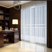 现代风格书房窗帘效果图