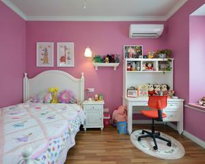 粉色系大户型儿童房装修效果图赏析