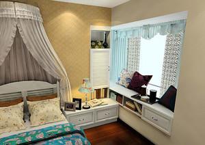 卧室飘窗装修效果图案例欣赏