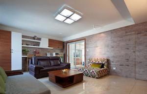 簡約大氣風格客廳吊頂裝修設計