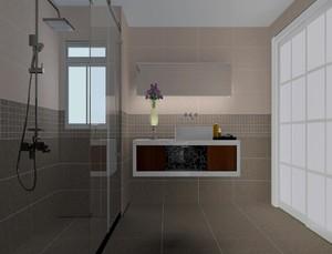 現代風格衛生間瓷磚裝修效果圖