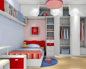 小户型现代简约风格儿童房装修效果图赏析
